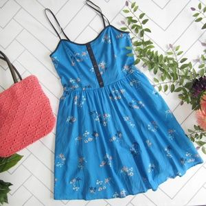 Adorable Sailboat Beachy Palm Tree Sun Dress sz 6